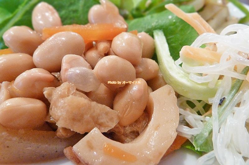 中華料理「双琉(そうりゅう)」のおかずはタンパク質をたっぷりと摂取できます。