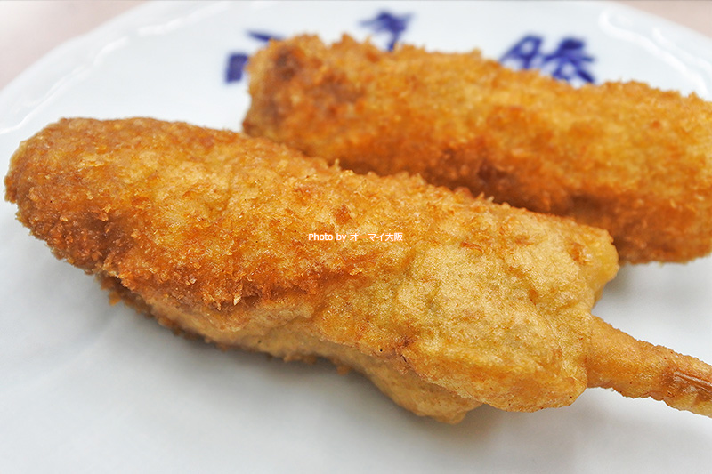 学生時代から「八重勝」の牛肉の串カツが大好きです。