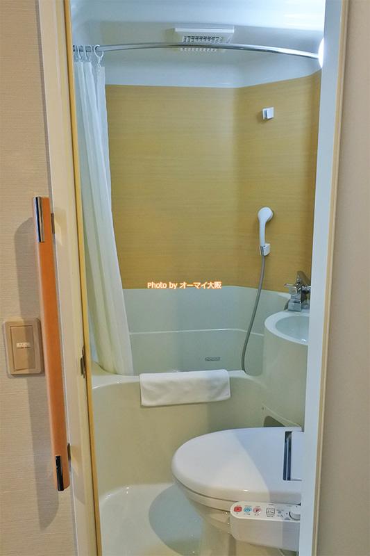 バスルームはユニットバスです。