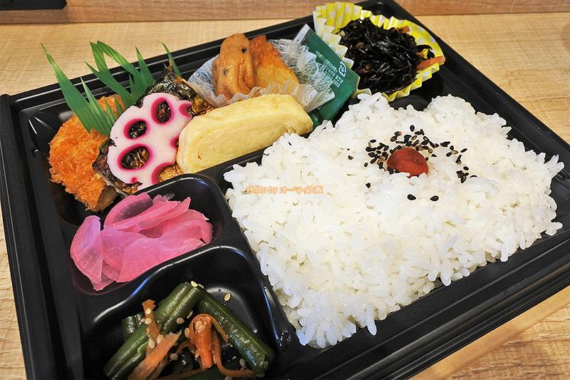 味もボリュームも申し分のない「スーパーホテル梅田肥後橋」の朝食弁当です。