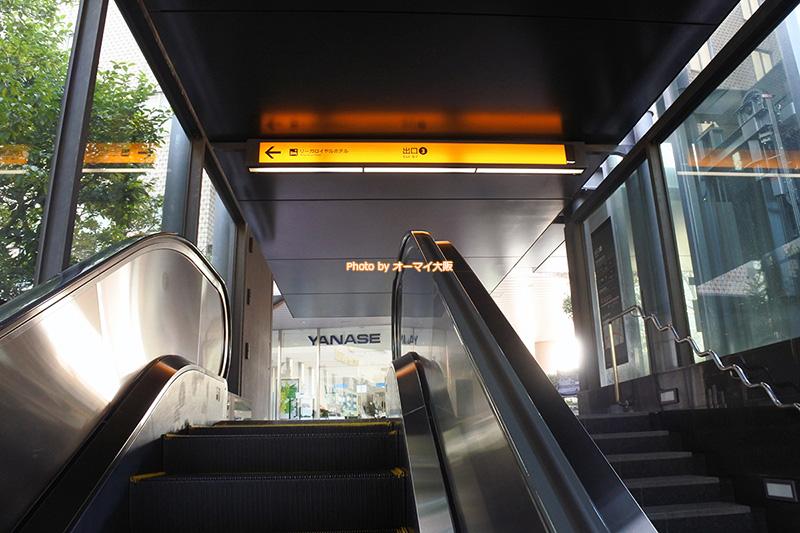 京阪の名前が示すように、京都と大阪を観光する場合は、京阪の中之島駅からリーガロイヤルホテル大阪へアクセスすると便利です。