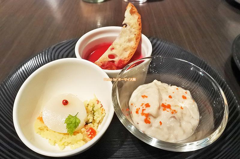老若男女が楽しめる前菜をラインナップしているレストラン「リモネ」の夕食ビュッフェです。