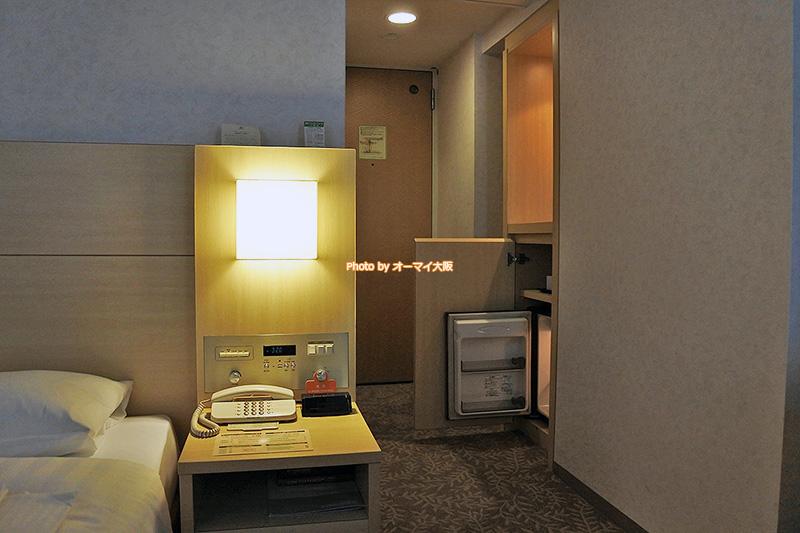 安く宿泊できるウエストウイングのシングルルームです。