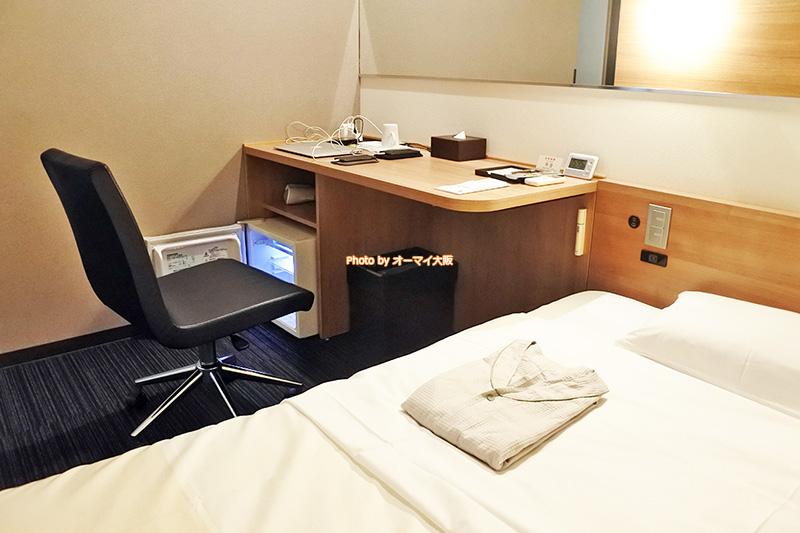 出張が多いビジネスパーソンにとって「スーパーホテルなんば日本橋」は心強い味方です。