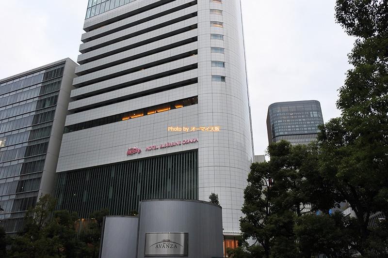 JR大阪駅から歩いて10分で移動できる「ホテルエルセラーン大阪」です。