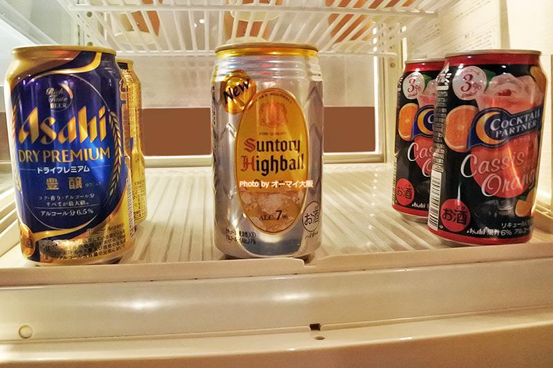 アルコールを無料で楽しめる「ホテルグランヴィア大阪」のカクテルタイムは大人気です。