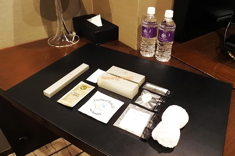 高級感のあるアメニティから「ホテルグランヴィア大阪」のプライドを感じることができます。