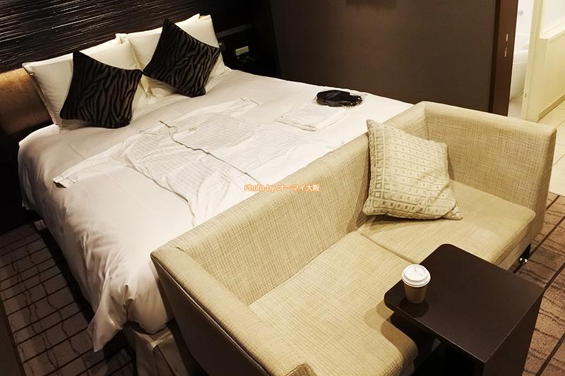 上質なサービスが魅力の「ホテルグランヴィア大阪」はシーリーのベッドを採用しています。