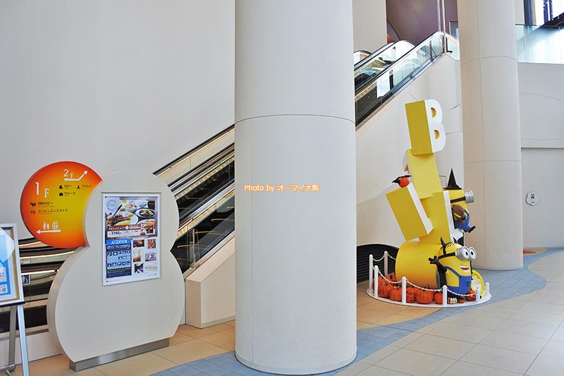USJオフィシャルホテル「ホテルユニバーサルポートヴィータ」はミニオン推しです。