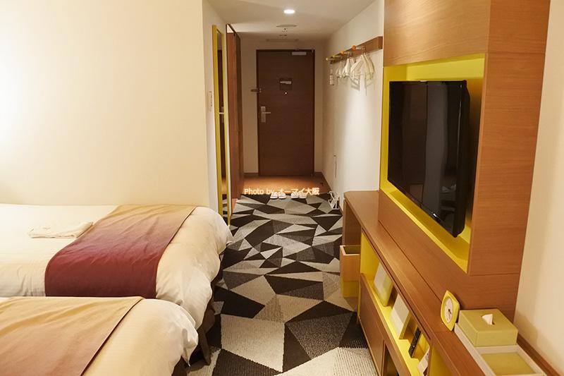 最もポピュラーな「ホテルユニバーサルポートヴィータ」の「スタンダードツイン」です。