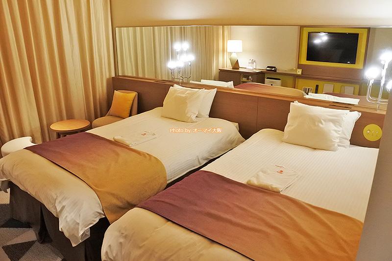 2018年にオープンしたばかりの「ホテルユニバーサルポートヴィータ」はキレイで、オシャレな客室が評判です。