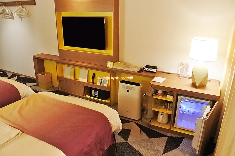 1泊2500円で「ホテルユニバーサルポートヴィータ」の「ヴィータスタンダードツイン」に宿泊できて超ラッキーでした。