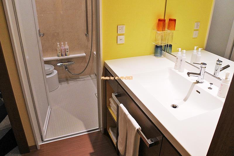 バスルームは洗い場ありのセパレートタイプで、ゆっくりと風呂を楽しめます。