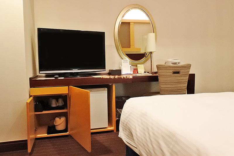客室タイプ「スタンダードツインルーム」はくつろぐための設備が充実しています。