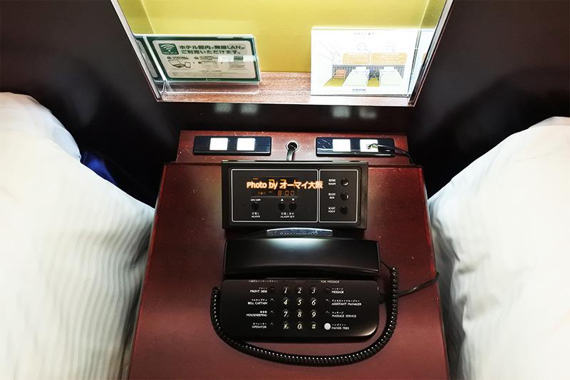 USJオフィシャルホテル「ホテル京阪ユニバーサルタワー」の客室は、有線、無線の両方のインターネット接続に対応しています。