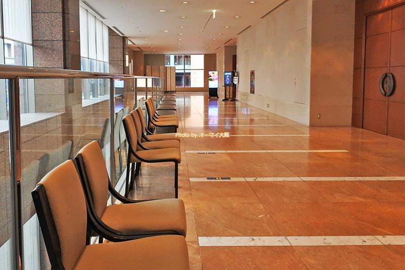 USJパートナーホテル「ホテル京阪ユニバーサルタワー」の朝食会場は日によって変わります。