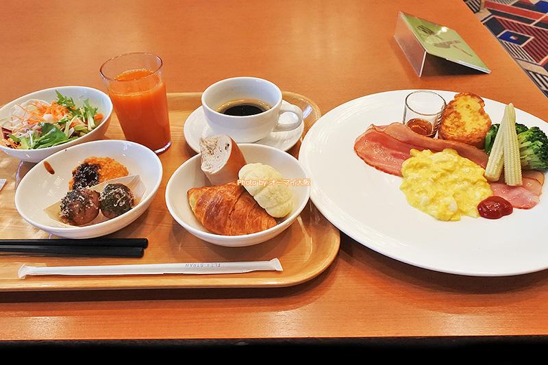 食べ放題の朝食ブッフェは新型コロナウイルスの影響で変更されました。