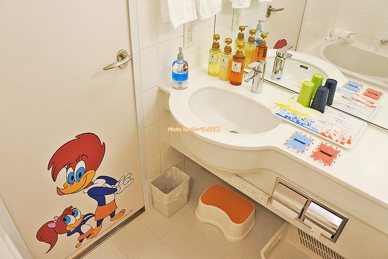 風呂アメニティと洗面アメニティの充実度は「ホテル近鉄ユニバーサルシティ」の魅力です。
