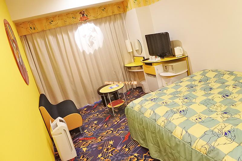 USJオフィシャルホテルだからこそ体験できるキャラクタールームです。