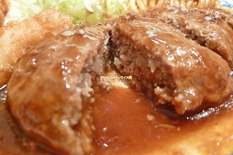 人気の洋食店「重亭」のジューシーなハンバーグが大好きです。
