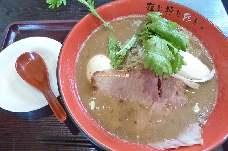 大阪っ子から評判の高い「麺屋 彩々」の味噌ラーメンです。