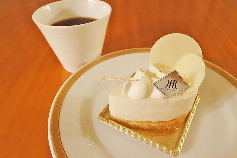 期間限定のガトーフロマージュは「リーガロイヤルホテル大阪」のこだわりが詰まった絶品のチーズケーキです。
