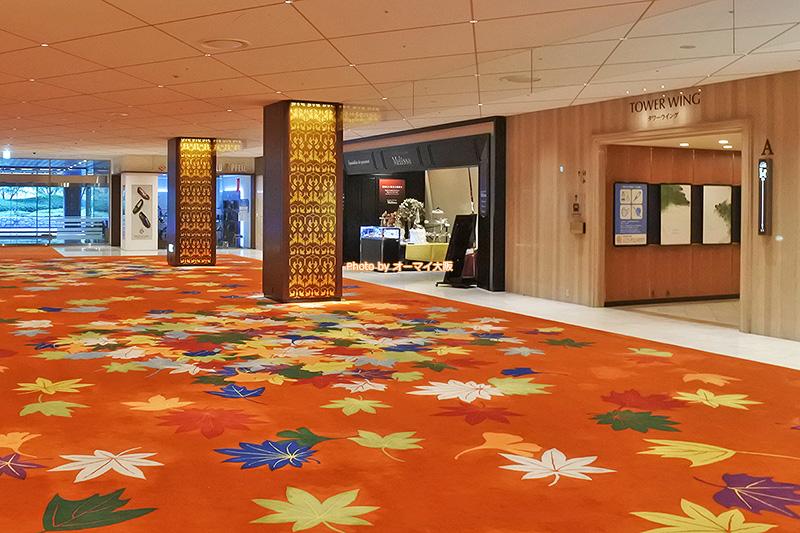 大阪市北区中之島「リーガロイヤルホテル大阪」の1階にあるグルメブティック「メリッサ」の外観です。