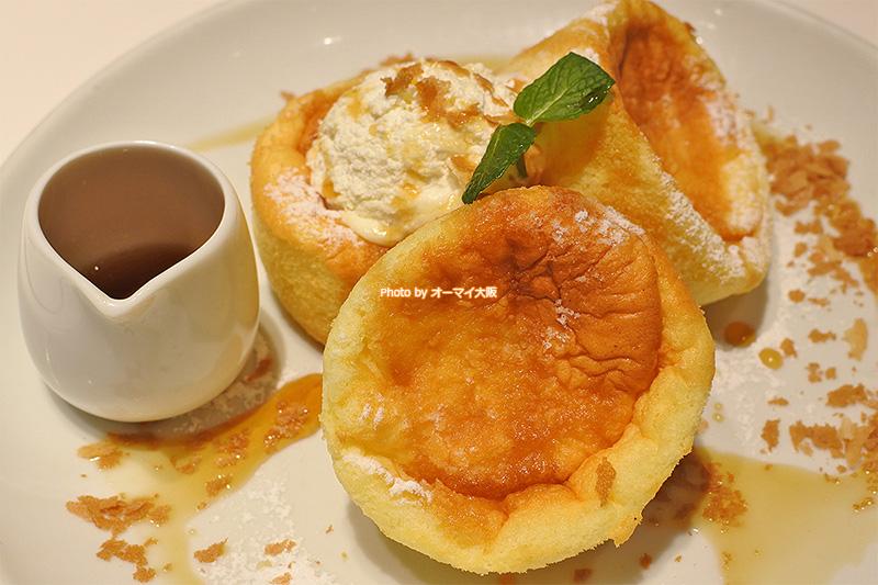 ペロリと食べられる「Butter(バター)あべのHoop店」のパンケーキ。パンケーキって、なぜこんなにペロリと完食できちゃうのでしょう?