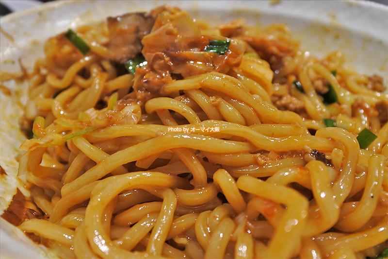 男の台湾まぜ麺はモチモチの中太麺。麺のおいしさを大事にする「麺屋わっしょい」が大好きです。