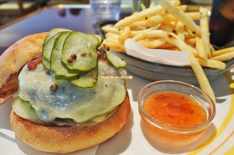 人気レストラン「Bills 大阪ステーション」はフレンチフライもおいしいです。